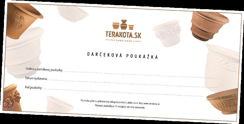 darčeková poukážka terakota.sk