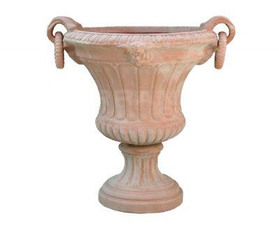 čaša kvetinač terakota